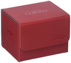Ultimate Guard Sidewinder Deck Box 100+ XenoSkin Card Game, Red, Large