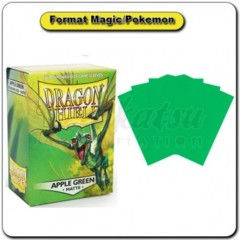 Dragon Shield Apple Green Matte 100 ct