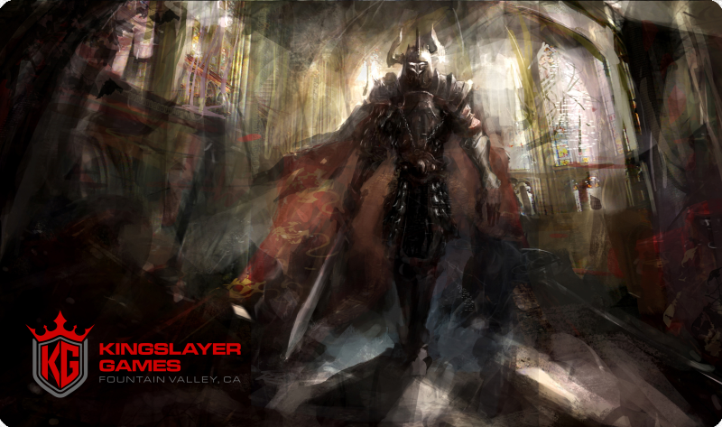Kingslayer Games Throne Room Playmat