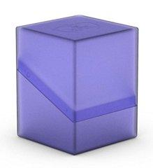 Ultimate Guard Boulder Deck Case 100+ Card Game, Purple Large