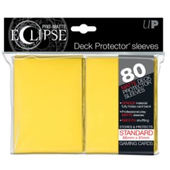 Ultra Pro Eclipse sleeves 80 count yellow