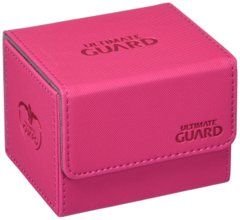 Ultimate Guard Sidewinder Deck Box 100+ XenoSkin Card Game, Pink, Large