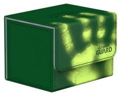 Ultimate Guard Deck Box: Sidewinder 80+ ChromiaSkin Green