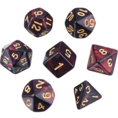 Chessex Polyhedral 7-die set ( All colors )