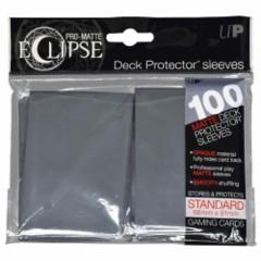 Ultra Pro Eclipse Sleeves 100 count Dark  Grey