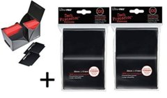 Ultra Pro Deck Protector Sleeves 100 count black