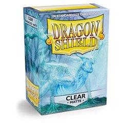 Dragon Shield Clear Matte 100 ct