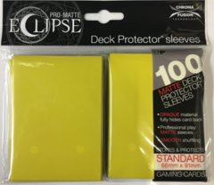 Ultra Pro Eclipse Sleeves 100 count yellow