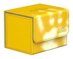 Ultimate Guard Deck Box: Sidewinder 80+ ChromiaSkin Yellow