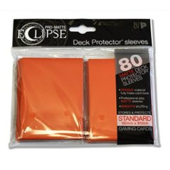 Ultra Pro Eclipse sleeves 80 count Orange