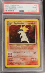 Typhlosion-Holo 18/111 PSA 9 MINT Neo Genesis