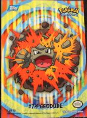 Geodud - 74 Sticker Chase Card