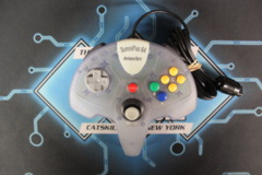 SuperPad 64 InterAct for N64 (Grey Opaque)