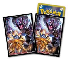 Pokemon Dusk Mane Necrozma & Dawn Wings Necrozma Sleeves 64 Count