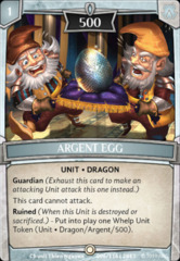 Argent Egg - Foil (2nd Wave)