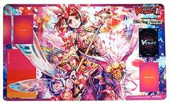Carxdfight Vanguard: Soaring Ascent of Gale & Blossom Playmat