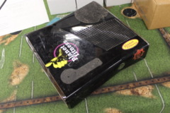 Gloss Black Xbox 360 S Console (1439): Parts or Repair Only - Sold as is