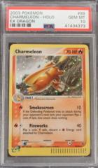 Charmeleon-Holo 99/97 PSA 10  GEM MINT EX Dragon