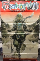 Force of Will Cloth Banner: Battle for Attoractia Alice Cluster Chapter IV - Arla, Guardian of the Skies