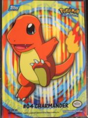 Charmander - 10 Sticker Chase Card