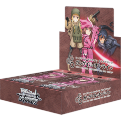 Sword Art Online GGO Sealed Booster Box