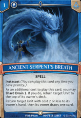 Ancient Serpent's Breath - Foil (2nd Wave)