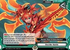 Decider Battle - BT02/109EN - PxR Parallel