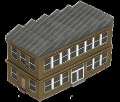 Factory Building - Alt. Paint Scheme BB192-A
