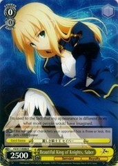 Beautiful King of Knights, Saber - FZ/S17-E006 - R
