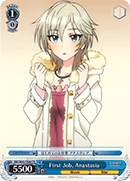 First Job, Anastasia - IMC/W41-TE48 - TD