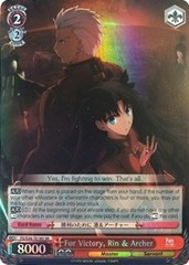 For Victory, Rin & Archer - FS/S34-TE18 - SR
