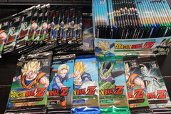 3 Random DBZ panini Packs