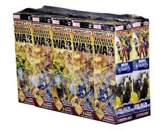 Marvel HeroClix: Avengers/Defenders War Booster Brick