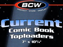 BCW Comic Book Toploaders 7
