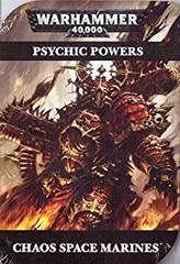 Warhammer Psychic Powers: Chaos Space Marines