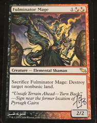 Fulminator mage Signed RK Post