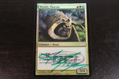 Woolly Thoctar Signed Foil