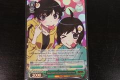 Heroes of Justice Game, Karen Araragi & Tsukihi Araragi - NM/S24-TE15S SR - TD
