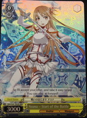 Asuna - Start of the Battle - S20-TE02 RRR