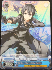 Kirito - Start of the Battle - S20-TE07 - RRR