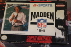 Madden NFL '94 - in box