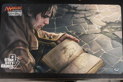 Grand Prix Charlotte 2016 Playmat Pore Over the Pages