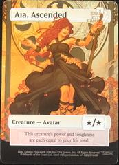 Aia, Ascended Creature - Avatar */* Foil