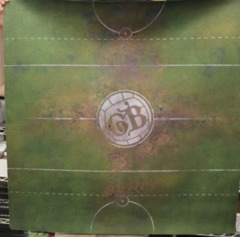Guild Ball Play Mat: Classic Pitch Openned