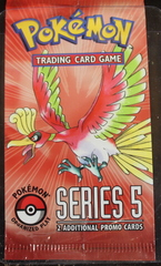 POP 5 Series 5 Pokemon Organized Play Pack