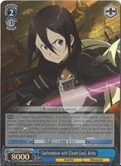 Confrontation with Death Gun, Kirito - SAO/SE23-E33 - C - Foil