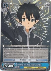 Getting the Holy Sword, Kirito - SAO/SE26-E29 - R - Foil