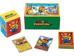 Pokemon Card Game XY BREAK Super Mario Bros Pikachu Cosplay Mario Box
