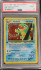 Politoed-Holo 8/75 PSA 9 1st Edition Neo Discovery