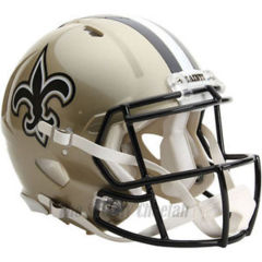 NEW ORLEANS SAINTS RIDDELL NFL FULL SIZE AUTHENTIC FOOTBALL HELMET